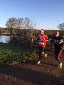 Christmas day park run